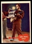 1956 Elvis Presley #39   Lights Camera Action! Front Thumbnail