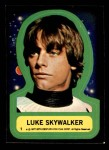 1977 Topps Star Wars Stickers #1   Luke Skywalker Front Thumbnail