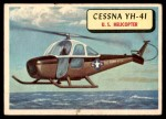 1957 Topps Planes #61 BLU  Cessna Yh-41 Front Thumbnail