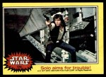 1977 Topps Star Wars #174   Solo aims for trouble Front Thumbnail