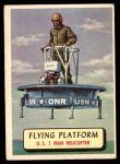 1957 Topps Planes #71 BLU  Flying Platform Front Thumbnail