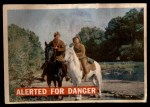 1956 Topps Davy Crockett Orange Back #7   Alerted For Danger  Front Thumbnail