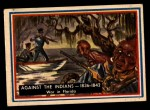 1953 Topps Fighting Marines #72   Against The Indians  Front Thumbnail