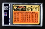 1966 Topps #50  Mickey Mantle  Back Thumbnail