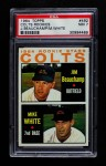 1964 Topps #492   -  Jim Beauchamp / Mike White Colt 45s Rookies Front Thumbnail