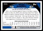 2009 Topps Update #70  Wilkin Ramirez  Back Thumbnail