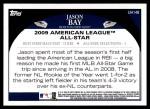 2009 Topps Update #148  Jason Bay  Back Thumbnail