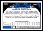 2009 Topps Update #167  Julio Borbon  Back Thumbnail