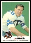 1969 Topps #166  Lee Roy Jordan  Front Thumbnail