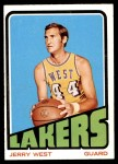 1972 Topps #75  Jerry West   Front Thumbnail