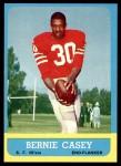 1963 Topps #137  Bernie Casey  Front Thumbnail
