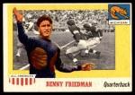 1955 Topps #64  Benny Friedman  Front Thumbnail