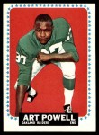 1964 Topps #150  Art Powell  Front Thumbnail