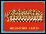 1963 Topps #121   Eagles Team Front Thumbnail