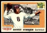 1955 Topps #34  Davey O'Brien  Front Thumbnail