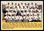 1956 Topps #11 D55  Cubs Team Front Thumbnail
