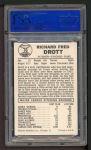 1960 Leaf #76  Dick Drott  Back Thumbnail