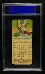 1911 T201 Mecca  Ty Cobb / Sam Crawford  Back Thumbnail