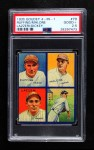 1935 Goudey 4-in-1  Bill Dickey / Tony Lazzeri / Pat Malone / Red Ruffing  Front Thumbnail