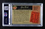 1955 Bowman #243  Gus Bell  Back Thumbnail
