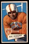 1952 Bowman Small #136  Bert Rechichar  Front Thumbnail