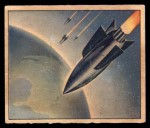 1950 Bowman Wild Man #33   War Rockets Front Thumbnail