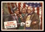 1954 Topps Scoop #14   President Mckinley Shot  Front Thumbnail