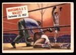 1954 Topps Scoop #65   -  Rocky Marciano KOs Walcott  Front Thumbnail