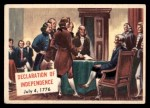 1954 Topps Scoop #111   Declaration Of Independence Front Thumbnail