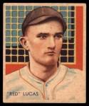 1935 Diamond Stars #46  Red Lucas   Front Thumbnail
