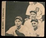 1935 Goudey 4-in-1  Jimmie Foxx / Pinky Higgins / Roy Mahaffey / Dibrell Williams  Back Thumbnail
