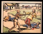 1938 Gum Inc. Horrors of War #123   Wine-sotted Soldier Kills Villagers Front Thumbnail