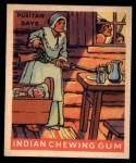 1933 Goudey Indian Gum #197   Puritan Days  Front Thumbnail