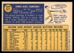 1970 Topps #671  Jim Campanis  Back Thumbnail
