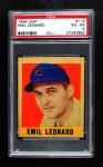 1948 Leaf #113  Dutch Leonard  Front Thumbnail