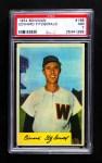 1954 Bowman #168  Ed Fitzgerald  Front Thumbnail