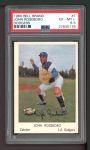 1960 Bell Brand Dodgers #7  John Roseboro  Front Thumbnail