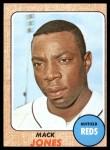 1968 Topps #353  Mack Jones  Front Thumbnail