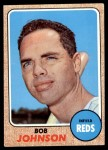 1968 Topps #338  Bob Johnson  Front Thumbnail