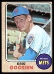1968 Topps #386  Greg Goossen  Front Thumbnail