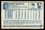 1977 Kellogg's #46  Al Oliver  Back Thumbnail