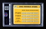 1963 Topps #537   -  Pete Rose / Al Weis / Ken McMullen / Pedro Gonzalez   #537 Rookie Stars Back Thumbnail