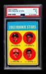 1963 Topps #537   -  Pete Rose / Al Weis / Ken McMullen / Pedro Gonzalez Rookie Stars Front Thumbnail