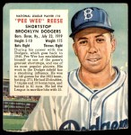1954 Red Man #15 NL x Pee Wee Reese  Front Thumbnail