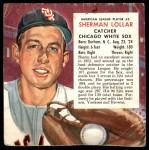 1954 Red Man #5 AL x Sherm Lollar  Front Thumbnail