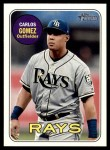 2018 Topps Heritage #671  Carlos Gomez  Front Thumbnail