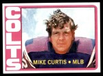 1972 Topps #326  Mike Curtis  Front Thumbnail