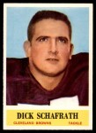 1964 Philadelphia #40  Dick Schafrath  Front Thumbnail