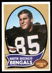 1970 Topps #187  Martin Baccaglio  Front Thumbnail
