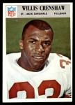 1966 Philadelphia #160  Willis Crenshaw  Front Thumbnail
